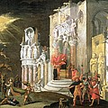 The Martyrdom Of St. Catherine, 17th by Monsu Desiderio