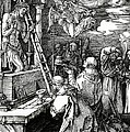 The Mass Of St. Gregory by Albrecht Duerer