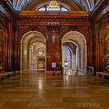 The Mcgraw Rotunda At The New York Public Library by Susan Candelario