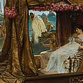 The Meeting Of Antony And Cleopatra  41 Bc by Lawrence Alma-Tadema