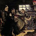 The Menshikov Family In Beriozovo, 1883 Oil On Canvas by Vasilij Ivanovic Surikov