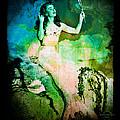 The Mermaid Mirror by Absinthe Art By Michelle LeAnn Scott