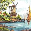 The Olde Mill by Carol Wisniewski