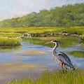 The Millway Marsh by Karol Wyckoff
