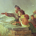 The Missing Boat, C.1876 by Erskine Nicol