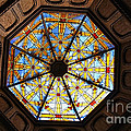 The Mission Inn Looking Up by Tommy Anderson