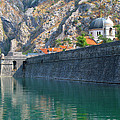 The Moat Of Kotor by Douglas J Fisher