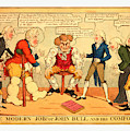 The Modern Job Or John Bull And His Comforts by English School