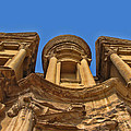 The Monastery In Petra by David Gleeson