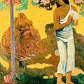 The Month Of Mary by Paul Gauguin