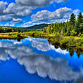 The Moose River From The Green Bridge by David Patterson