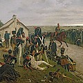 The Morning Of The Battle Of Waterloo by Ernest Crofts