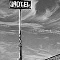 The Motel Bw Palm Springs by William Dey