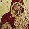 The Mother Of God -the Don Icon by Dragica  Micki Fortuna