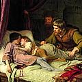 The Murder Of The Sons Of Edward Iv by Ferdinand Theodor Hildebrandt