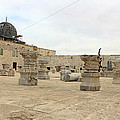 The Museum At Dome Of The Rock by Munir Alawi