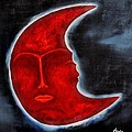 The Mysterious Moon - Original Oil Painting by Marianna Mills