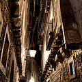 Narrow Street In Albarracin by Weston Westmoreland