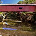 The Narrows Covered Bridge 1 by Marty Koch