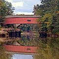 The Narrows Covered Bridge 4 by Marty Koch