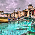 The National Gallery In Trafalgar Square by Tim Stanley