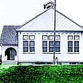 The National Museum Of Architecture In Sloansville N Y In 1905 by Dwight Goss