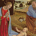 The Nativity by Cosimo Rosselli