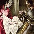 The Nativity by El Greco Domenico Theotocopuli