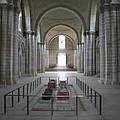 The Nave With Tombs Fontevraud Abbey by Christiane Schulze Art And Photography