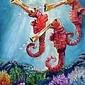 The Neptunes -- Trumpeteers by Carol Allen Anfinsen
