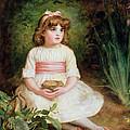 The Nest Oil On Canvas by Sir John Everett Millais