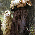 The Newborn Lamb by William Bouguereau