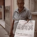 The Newspaper Seller by Beth Goddard