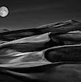 The Night Walked Down The Sky ... by Yvette Depaepe