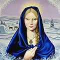 The Nordic Madonna by Nathalie Chavieve