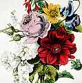 The Nosegay by Currier and Ives