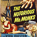 The Notorious Mr. Monks, Us Poster Art by Everett