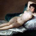 The Nude Maja by Francisco Goya