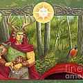 The Oak King by Melissa A Benson
