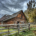 The Ol' Barn by Michael Winn