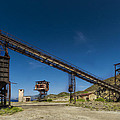 The Old Abandoned Mine Machinery by Enrico Pelos