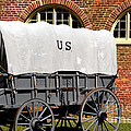 The Old Army Wagon by Paul W Faust -  Impressions of Light