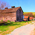 The Old Barn 5d22271 by Wingsdomain Art and Photography