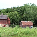 The Old Barn by Bonfire Photography