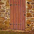 The Old Barn Door by Kristia Adams