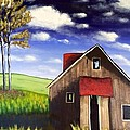 The Old Barn House by Joy Gilley