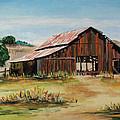 The Old Barn by Nancie Johnson