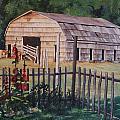 The Old Barn by Nancy Delgado