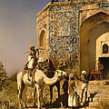 The Old Blue Tiled Mosque - India by Mountain Dreams