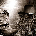 The Old Boots by Olivier Le Queinec